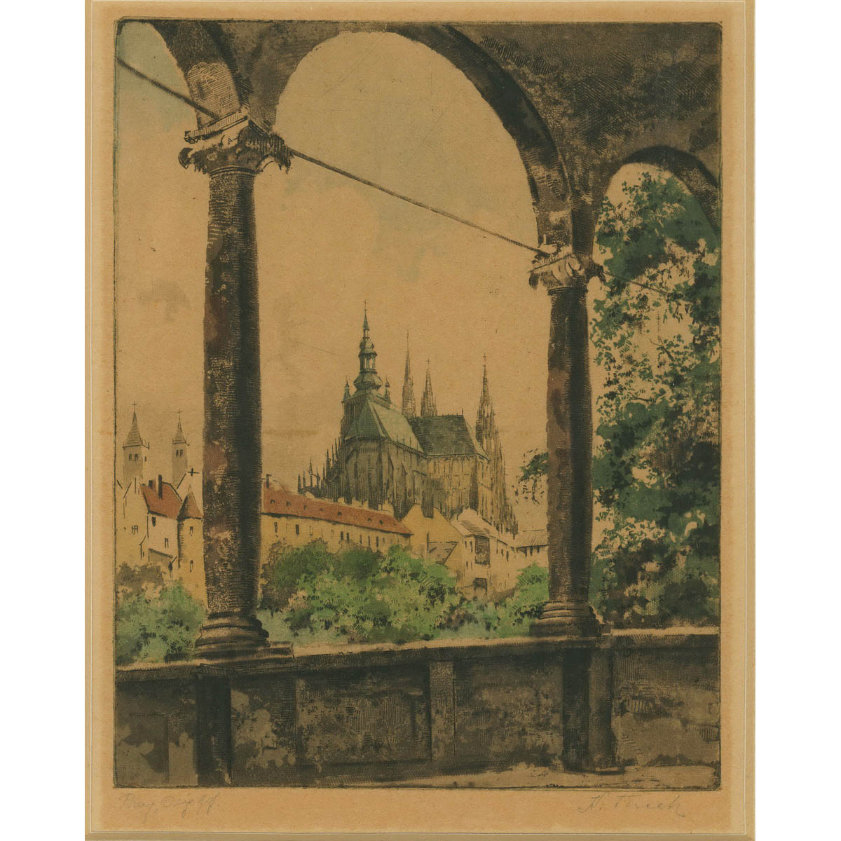 PRAG. NAUMBURG. COBURG u.a.
