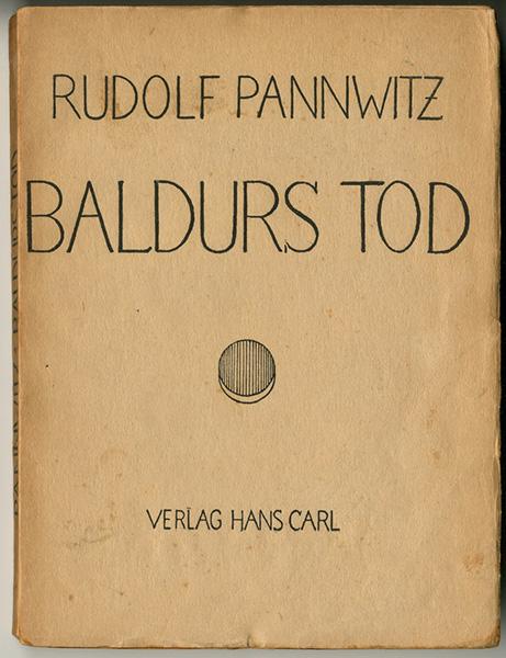 PANNWITZ, RUDOLF