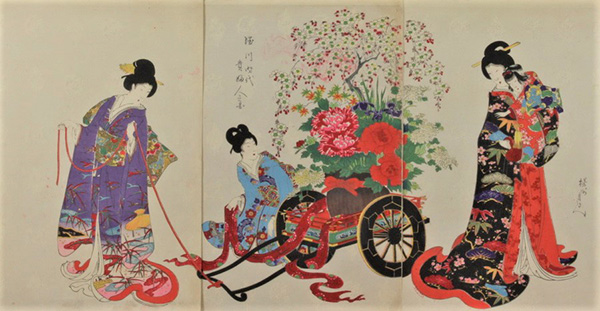 CHIKANOBU, TOYOHARA, 1838-1912