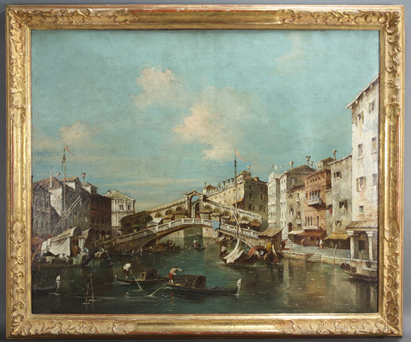 ANTONIO CANAL (=CANALETTO) - SCHULE, Ende 18. - Mitte 19. Jhdt.
