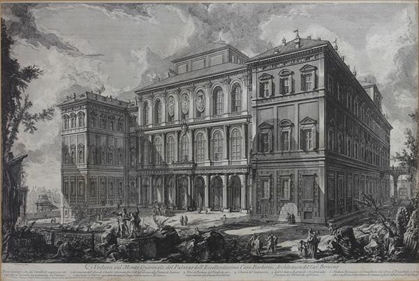 PIRANESI, GIOVANNI BATTISTA, 1720 Moglianao/Veneto - 1778 Rom