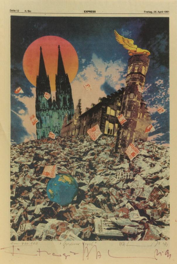 SCHULT, H.A., 1939 Parchim - in Köln tätig