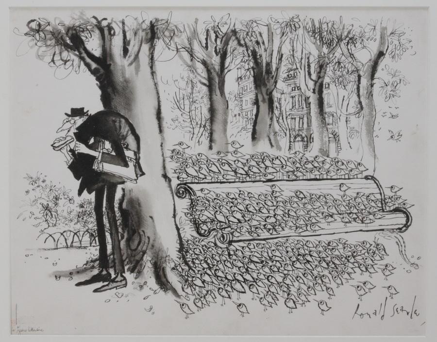 SEARLE, RONALD,  1920 Cambridge - 2011 in Draguignan, Frankreich