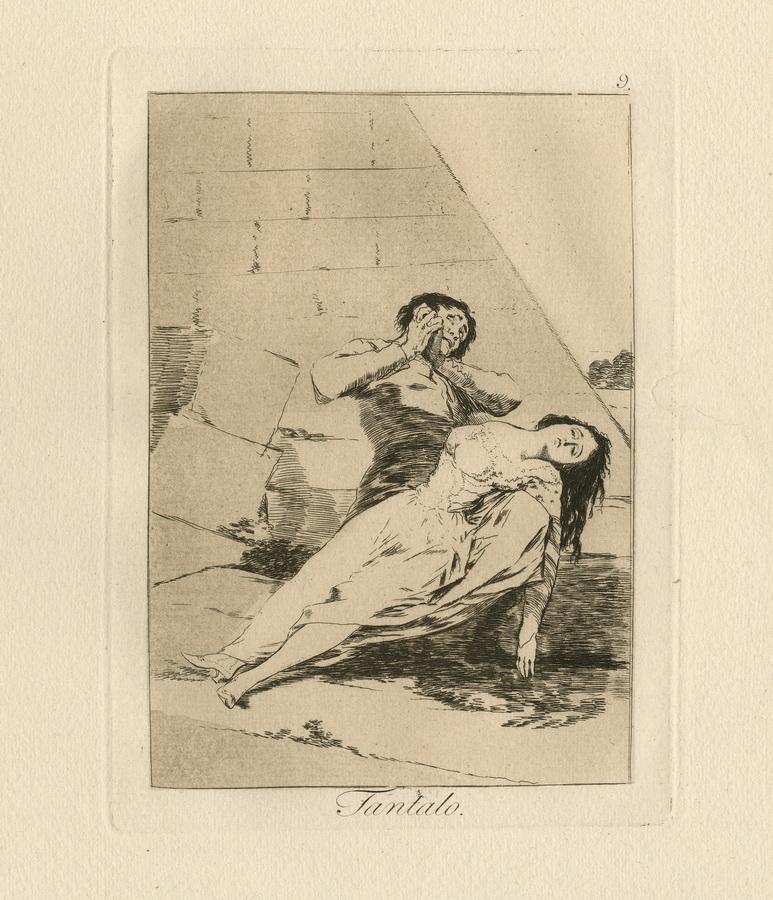 GOYA Y LUCIENTES, FRANCISCO JOSÉ DE, 1746 Fuendetodos/Aragon - 1828 Bordeaux