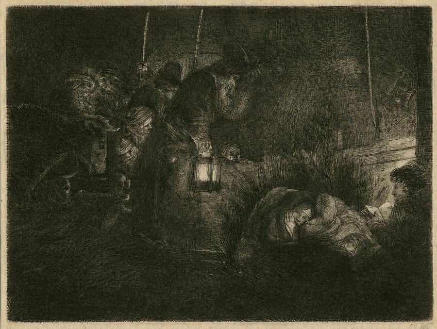 REMBRANDT VAN RIJN, HARMENZOON VAN RIJN, 1606 Leiden - 1669 Amsterdam
